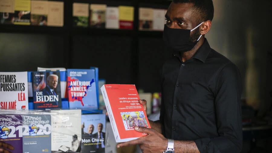 Making the case for books: Alpha Ramazani