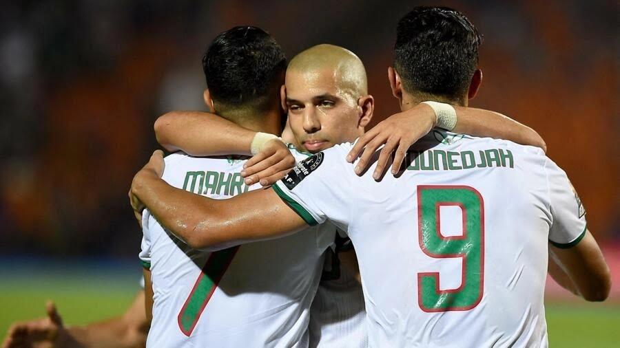 بونجاح، فيغولي ومحرز قادوا الجزائر للفوز على النيجر 4-صفر. 12 أكتوبر/تشرين الأول 2021.